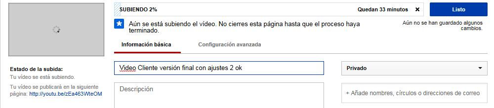 Título predeterminado de archivo youtube